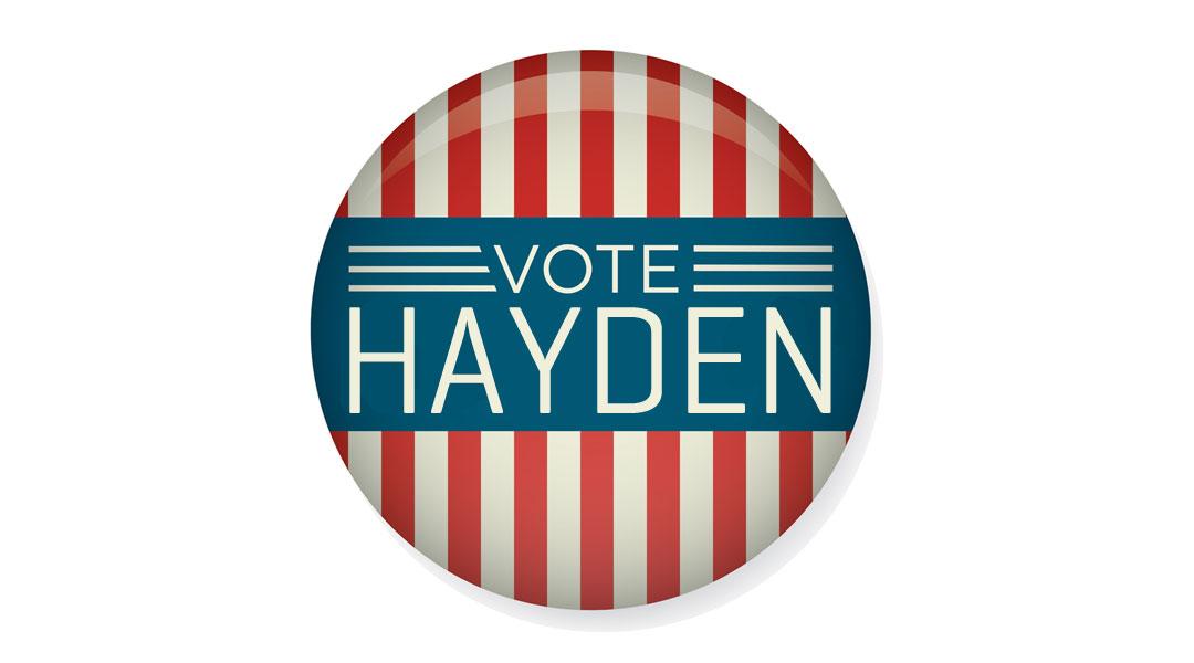 Vote Hayden