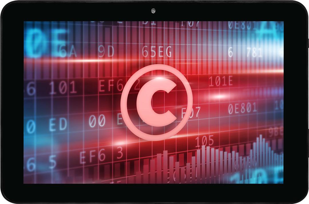 Copyright iPad