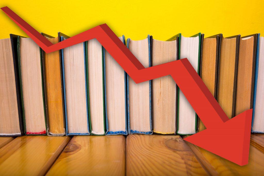 Falling Book Sales