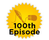 100th Episode Logo